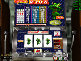 Operation M.Y.O.W slot game online review