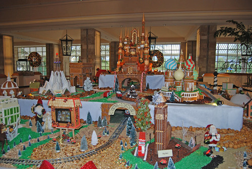 JW Marriott Gingerbread Village