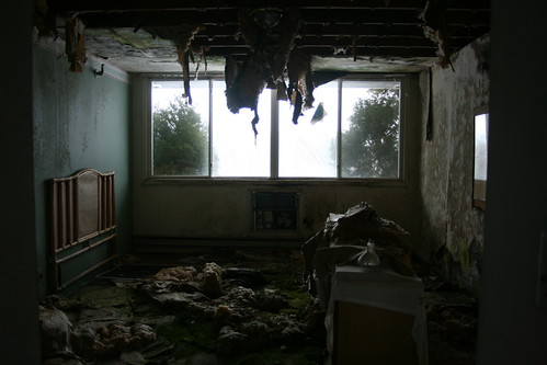 This is how most rooms looked