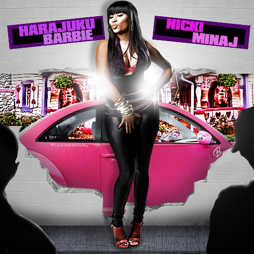 This is my cover for Nicki Minaj's yet to be titled debut album.