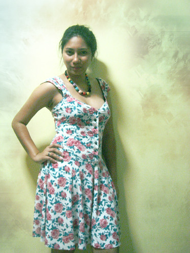 Janessa-floral dress