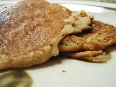 whole wheat pancakes - 13