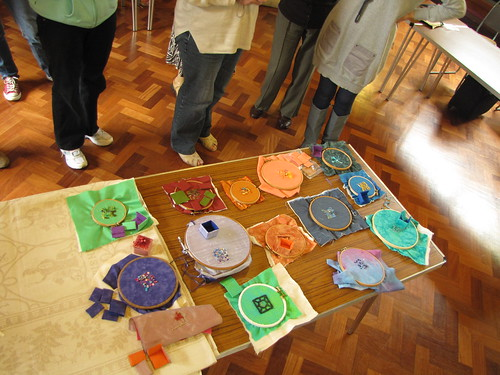 Birmingham Embroiderers Guild May 2011 Little Boxes (35)