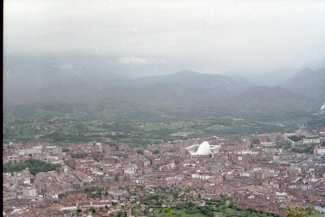 Oviedo desde cerro Naranco