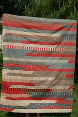 Chris's Jelly Roll Race Quilt