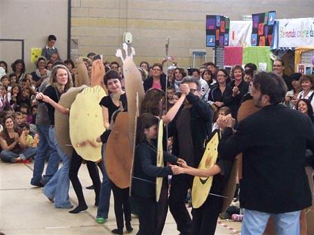 Défilé danse patates Grateloup