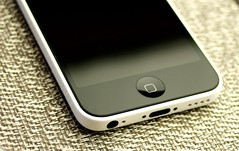 iPhone 5c Home Button a (Philip Osborne Photography) Tags: white home photo stock button 5c iphone