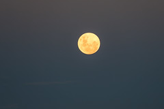 Rising Full Moon (Serendigity) Tags: outback mining australia roadtrip fullmoon nsw brokenhill city newsouthwales dusk