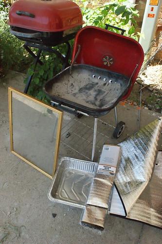 Future solar cooker?