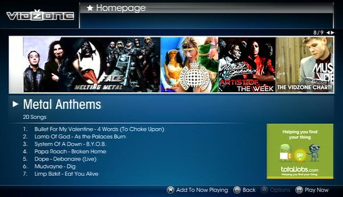 VidZone - Metal Anthems 02-09 July