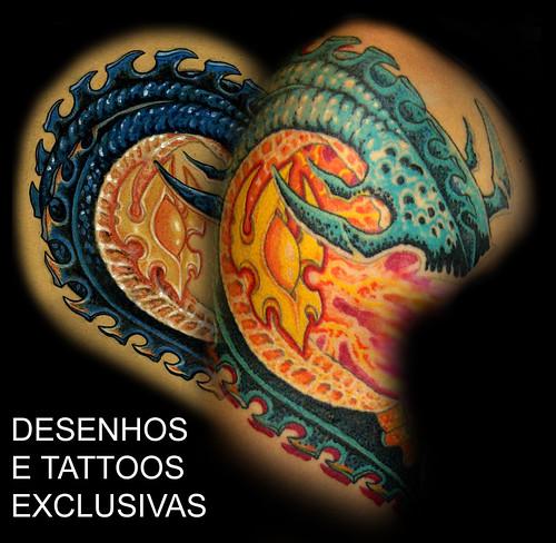 desenhos e tattoos exclusivas