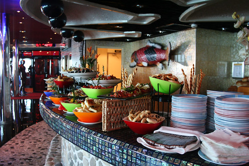 Sushi Bar, Serving Tapas (Carnival Splendor)