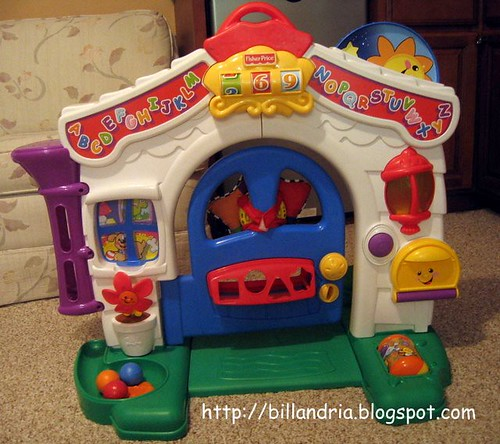 Fisher Price Learning Home outdoor side