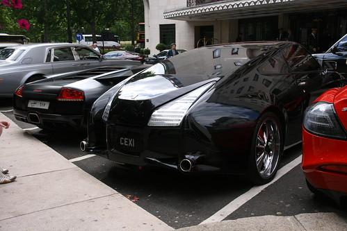Mercedes Slr Black. Mercedes-Benz SLR McLaren