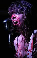 Le Butcherettes (oscarinn) Tags: mexico concert df punk concierto livemusic musicmakers cabaret feminist pasaguero musicaenvivo riotgrrls lebutcherettes terigenderbender