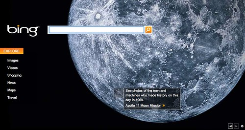 Moon Day Logo - Bing
