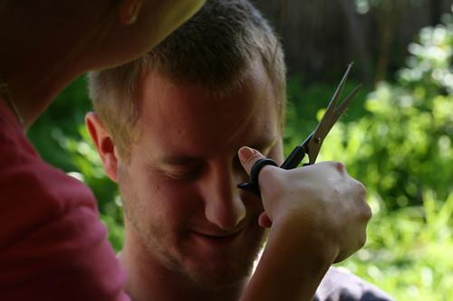 A hair cut