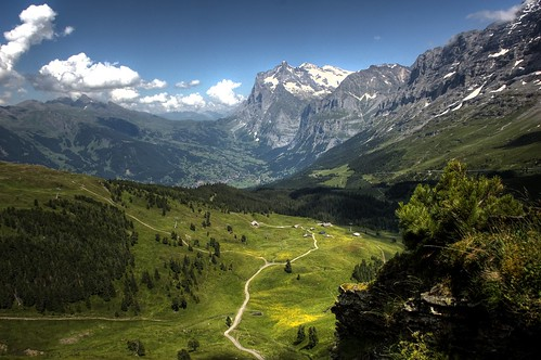 フリー画像| 自然風景| 山の風景| アルプス山脈| スイス風景|       フリー素材|