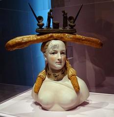Retrospective Bust of a Woman (IslesPunkFan) Tags: nyc woman newyork art museum female moma museumofmodernart bust salvadordali rectrospectivebustofawoman