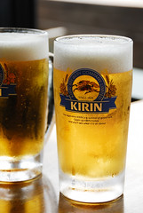 Draft beer (Takechan-400) Tags: summer beer nikon d200 nikkor kirin  draftbeer    afsdxvred18200mm