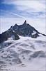 giants tooth (Ron Layters) Tags: snow france mountains alps ice geotagged pentax slide transparency fujichrome chamonix provia hautesavoie pentaxmz10 crevasses mountainsalps elevation40004500m dentdugeant specland altitude4013m ronlayters slidefilmthenscanned massifdumontblanc mz10 montmallet summitdentdugeant aiguilledugeant geo:lat=45862012 geo:lon=6948895 theendoftherochefortridge
