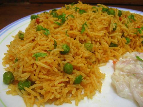 Spicy Chilly: Easy n Spicy Peas Biriyani