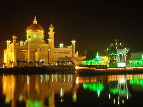 Mezquita de Bandar Seri Begawan