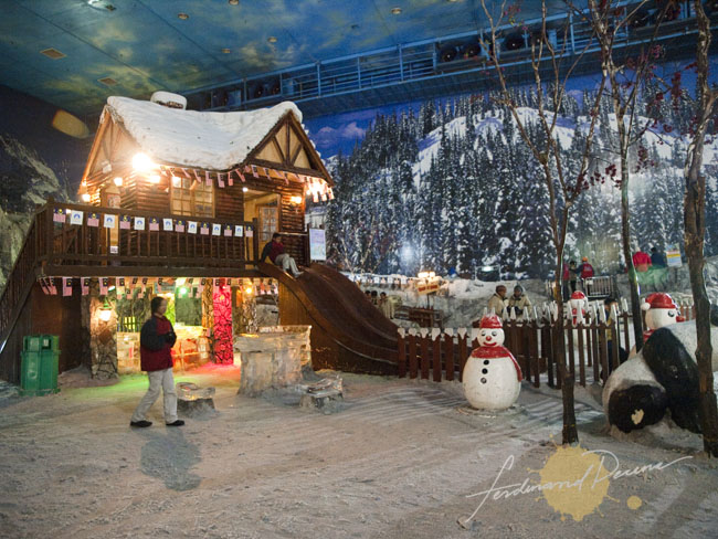 The Snow World in Genting Highlands