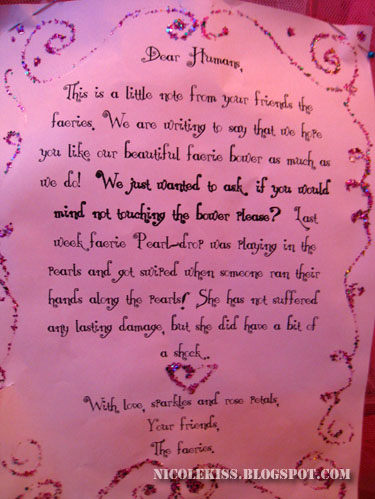 little fairy note