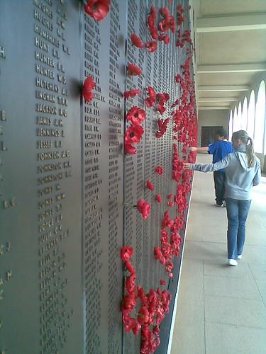 Roll of honour, Australian War Memorial.