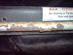Rusty swaybar