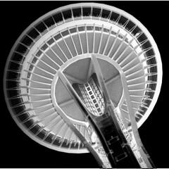 Needle8 (A. Vandalay) Tags: seattle blackandwhite tower architecture washington structure spaceneedle thisphotorocks nikond300