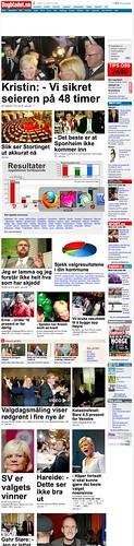 Dagbladet - Forsiden kl 22.58