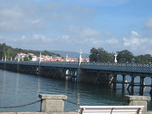 Puente de El Grove a La Toja