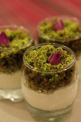 - mafrooka (Ghadeer Q) Tags: food blur macro dessert sweet bokeh pudding pistachio kuwait eastern   mafrooka