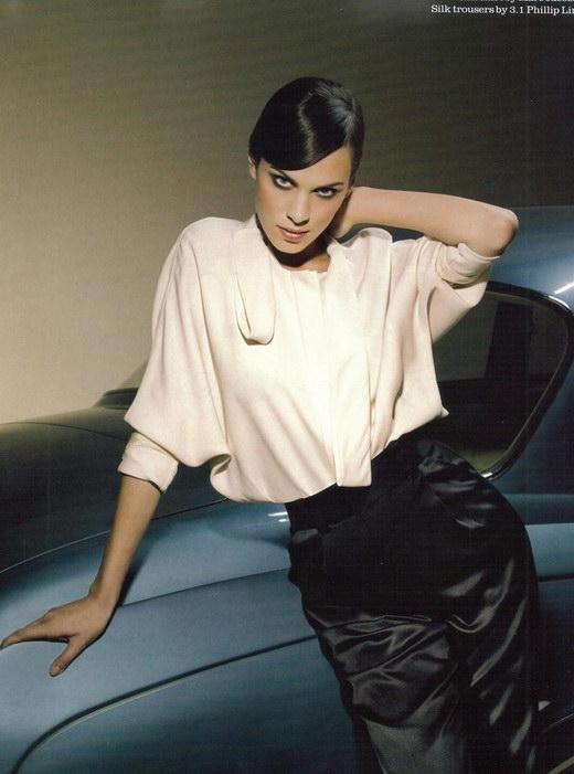UK Model It Girl Alexa Chung 39 Elle Photoshoot
