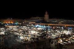 Jamaa el-Fnaa (Marrakech) (StefanoGiordano) Tags: sunset sunrise nikon tramonto desert alba dune mosque agadir morocco berber fez maroc marocco marrakech medina casablanca d200 marokko fes touareg deserto tuareg qasr suk moschea kasr mhamid berberi chigaga marroque jamaaelfnaa ouarzazade
