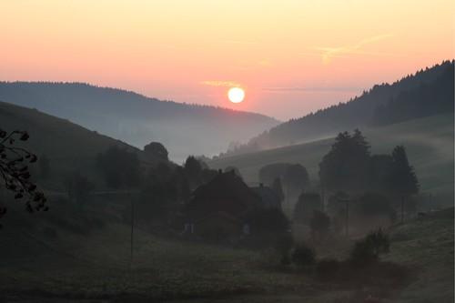 Sonnenaufgang am Michelhof