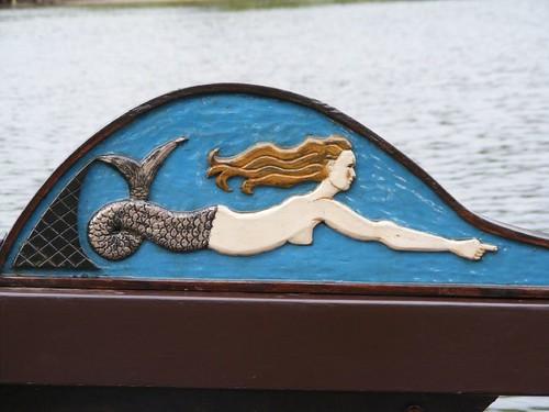 Carved Mermaid