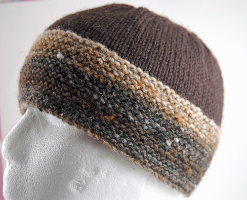 Brown Noro Hat 02