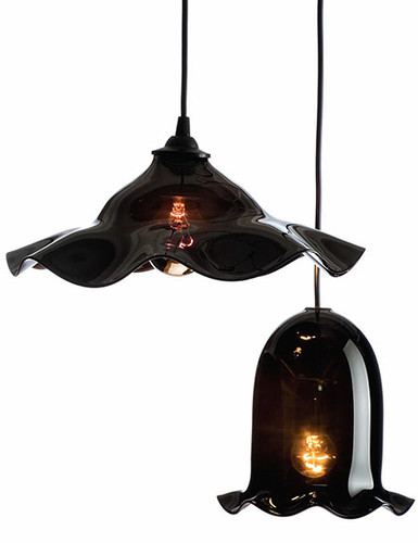 traditional blown glass lighting - black, Gadget, Lighting