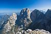 Cima di Terra Rossa, Julische Alpen (perlmuttpictures) Tags: italien berg nebel urlaub herbst wandern bergwandern hoch gipfel steil julischealpen gewaltig at goldenerherbst bersteigen montasch cimaditerrarossa blauerhiimmel fernssicht wischberggruppe