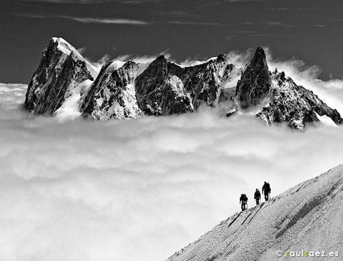 Montañeros (Alpes)