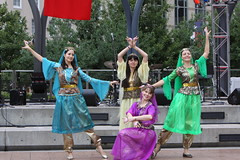 Azerbaijani Folk Dancers V (kinjotx) Tags: festival dance texas folk houston 2009 turkish azerbaijani kinjotx