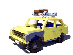 Bogdanmobil (Ciezarowkaz) Tags: car team model lego skoda zaz moskvich