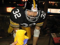 Poppy and Franco Harris