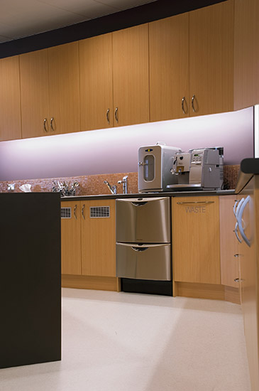 Commercial Interior, Office Kitchen