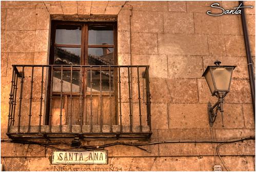 Balcón y su farola