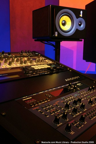 Audio Production equipment at The Beat Suite is based around audio production, light mastering and voiceover production