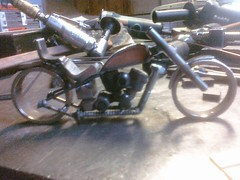 More softail progess, fenders and seats on...